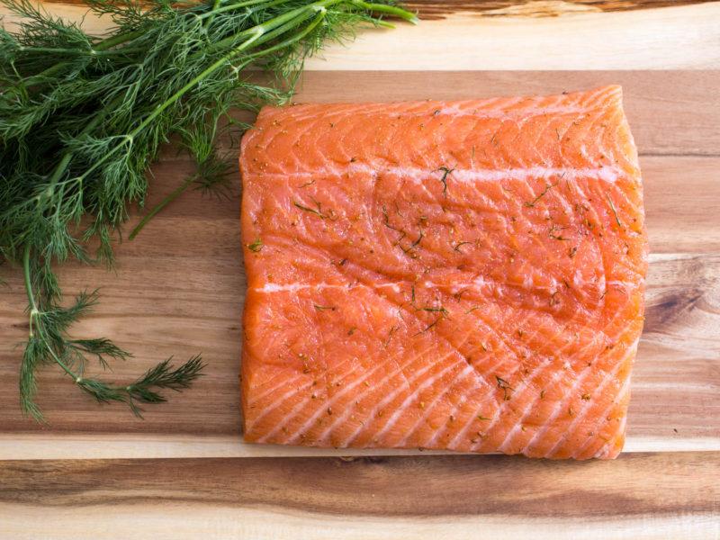 Рецепт дня: слабосолёный лосось. Изображение номер 3