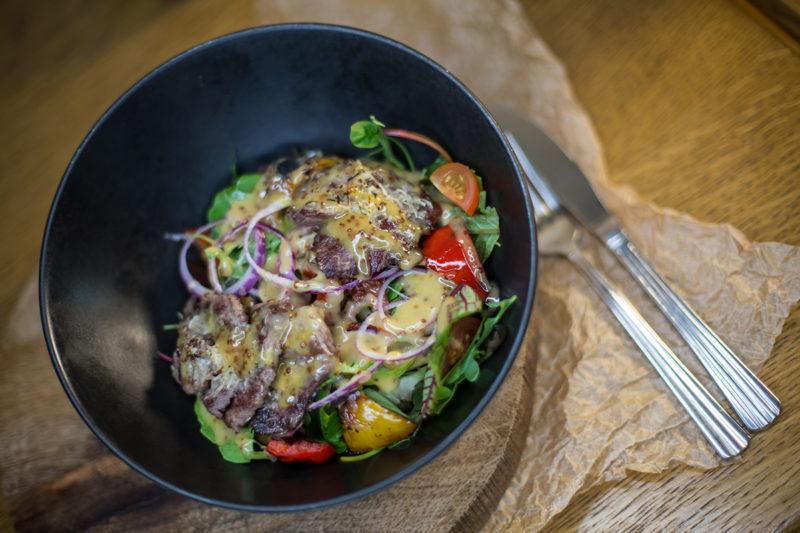 Изображение рецепта Тёплый салат с говядиной