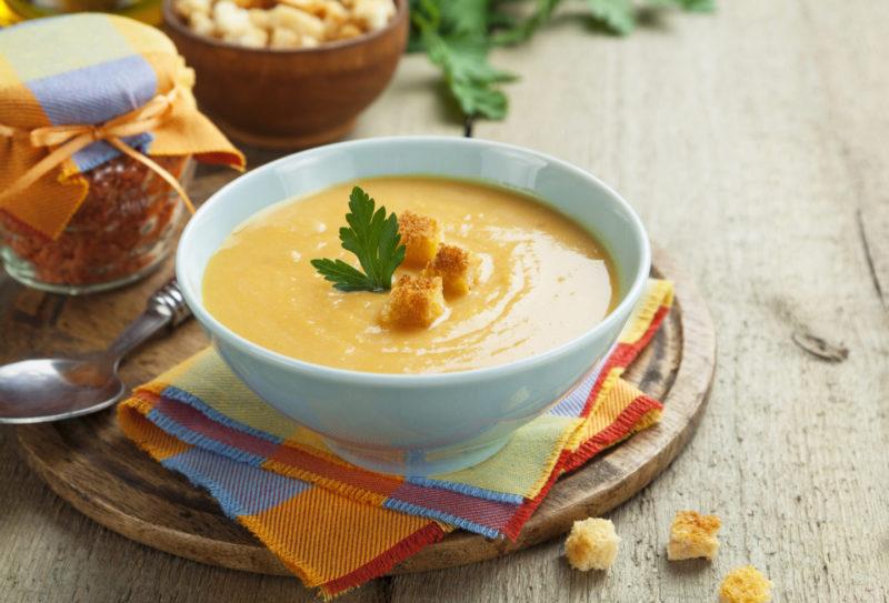 Изображение рецепта Чечевичный суп-пюре