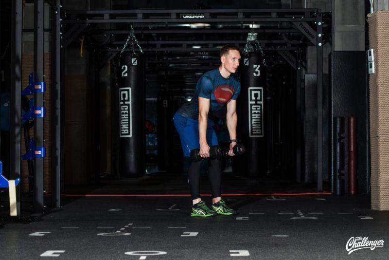 Тренируемся с гантелями: 7 упражнений для всего тела. Изображение номер 5