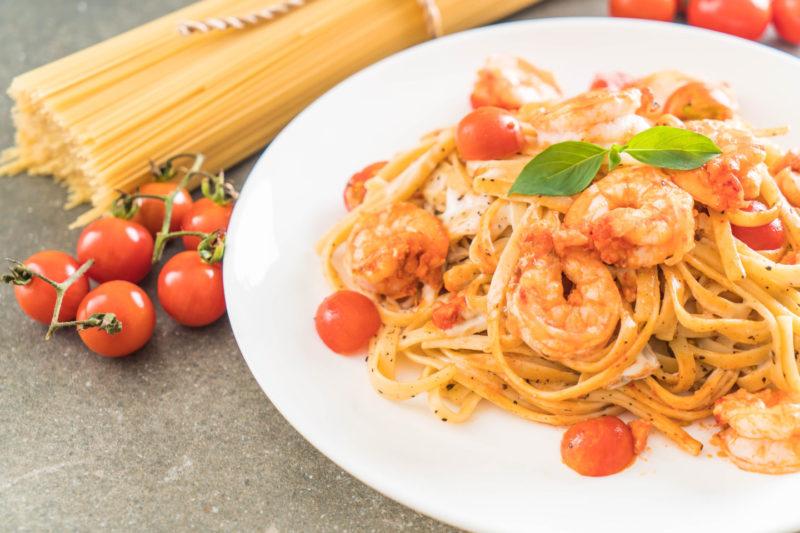 Изображение рецепта Паста с креветками