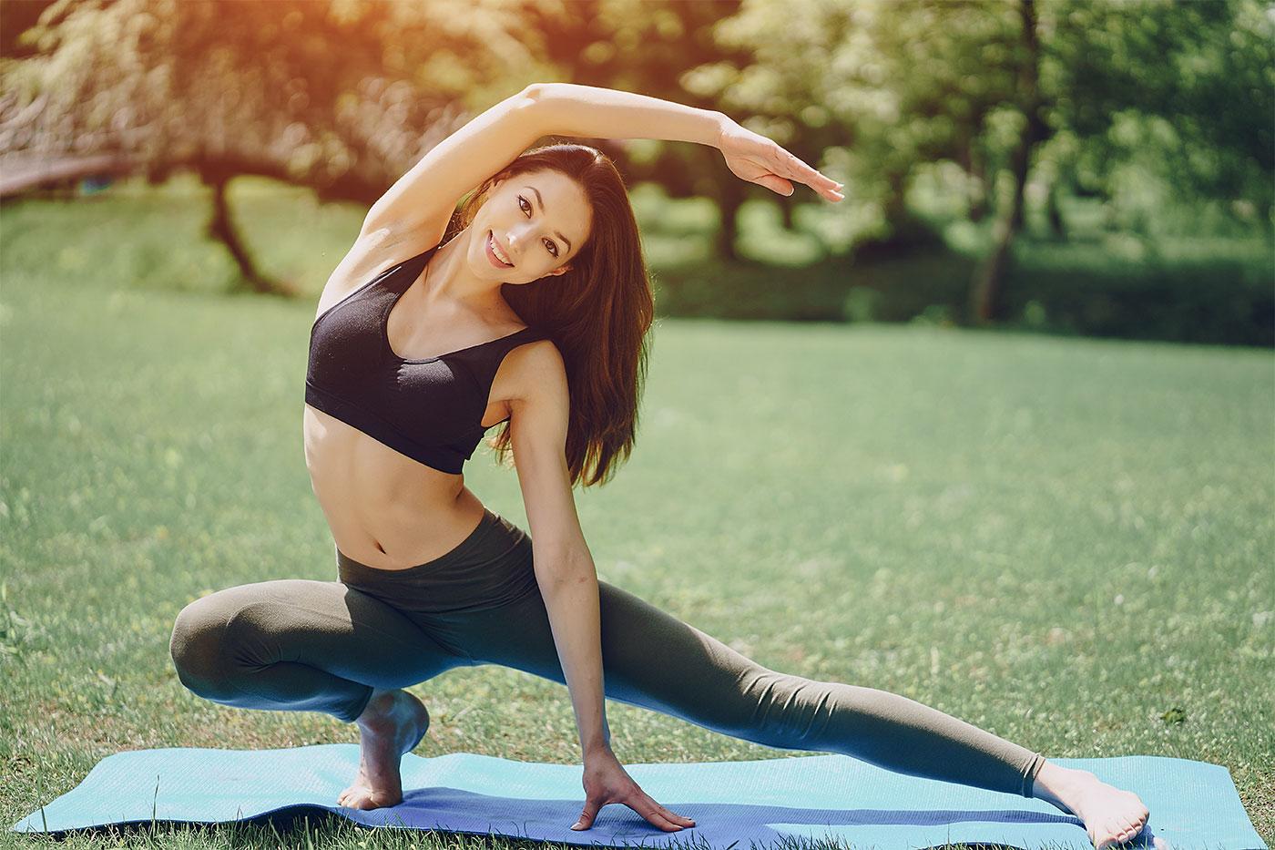 Упражнения от боков и живота